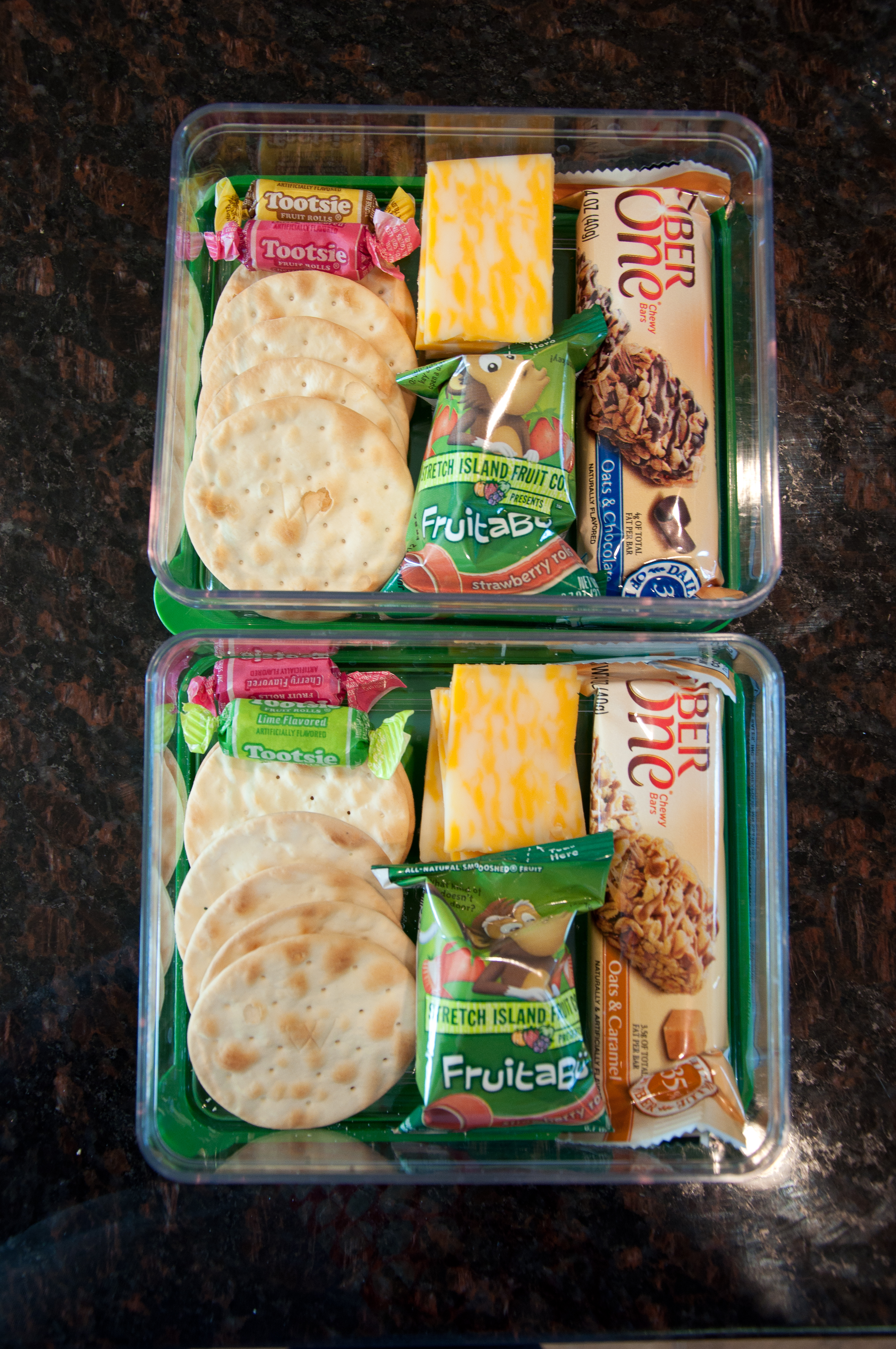 Homemade Lunchables Snap Eat Run