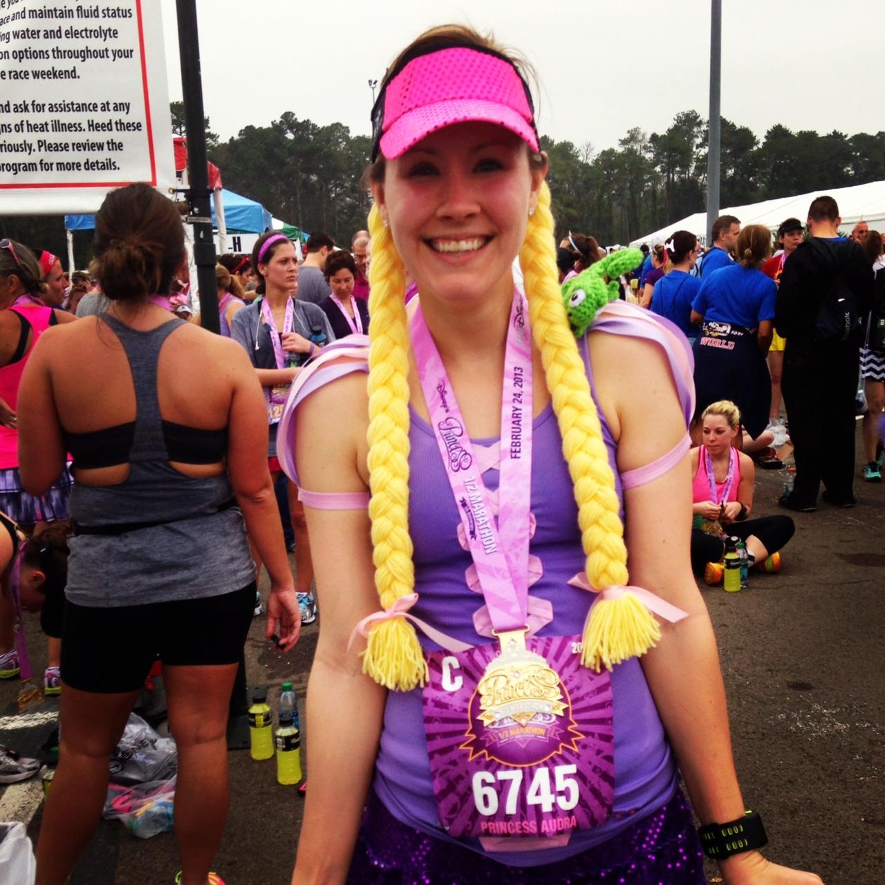 Post Race Rapunzel  sc 1 st  Snap. Eat. Run. - WordPress.com & Princess Running Costumes u2013 Snap. Eat. Run.