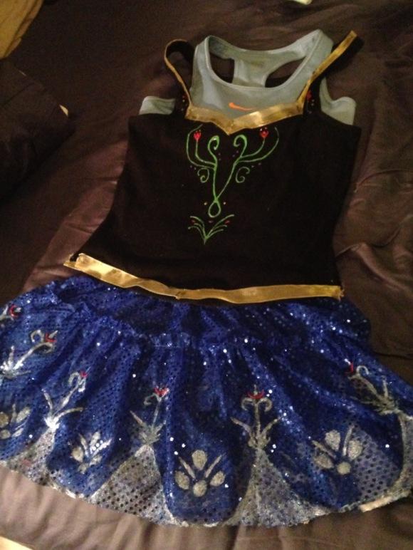 Anna Running Costume