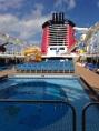 Main pool deck