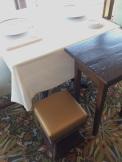 Remy - purse stool!