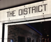 The District entrance