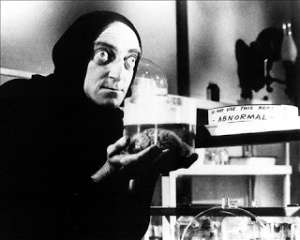 Marty Feldman and Abby Normal